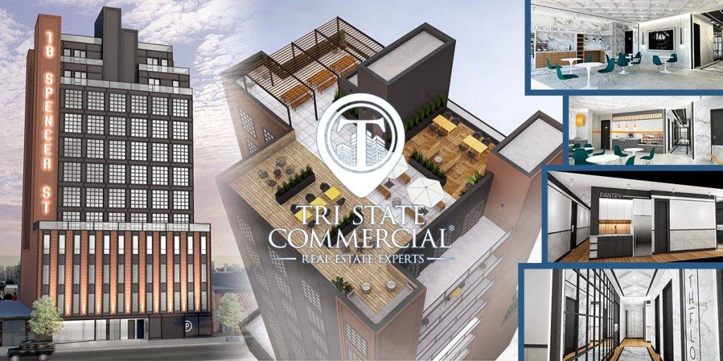 Brooklyn, NY: A Brand New 35,000 RSF Office Building Will Sprout On The  Borderline Of Bedford Stuyvesant And Williamsburg. 18 Spencer Street Is A  12 Story, ...