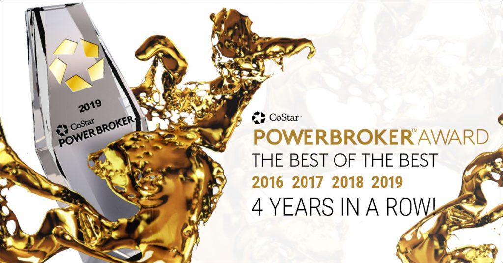 4 years in a row - power broker award