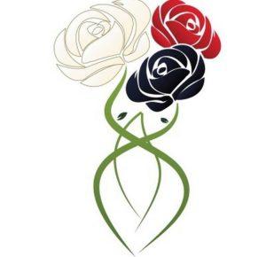 Blended Roses logo