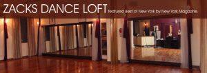Zack's Dance Loft logo